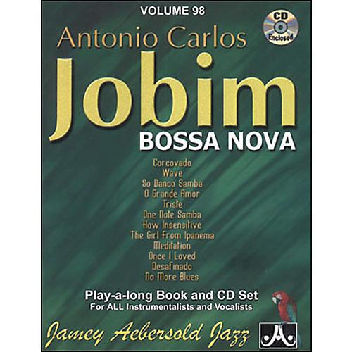 Jamey Aebersold Antonio Carlos Jobim - Bossa Nova Book and CD