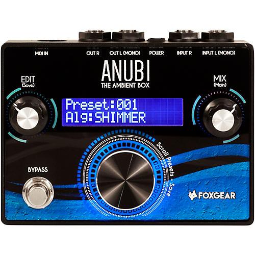 FoxGear Anubi Ambient Box Reverb Effects Pedal