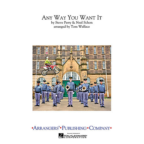 Arrangers Any Way You Want It Full Score Marching Band