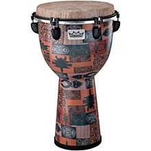 Apex Djembe Drum 12 x 22 in. Orange Kinte