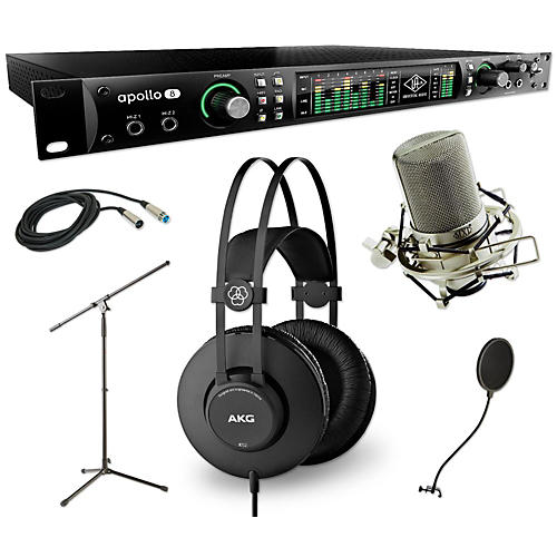 Universal Audio Apollo 8 Thunderbolt QUAD, K52 and 990 Package