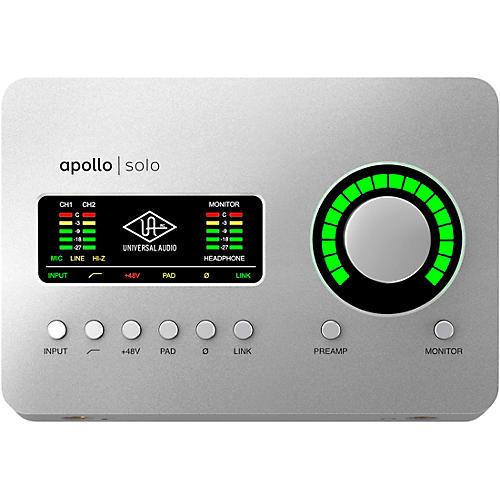 Universal Audio Apollo Solo Heritage Edition Thunderbolt 3 Audio Interface