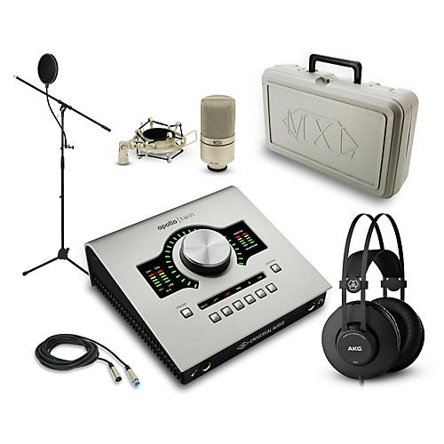 Universal Audio Apollo Twin SOLO, K52 and 990 Package