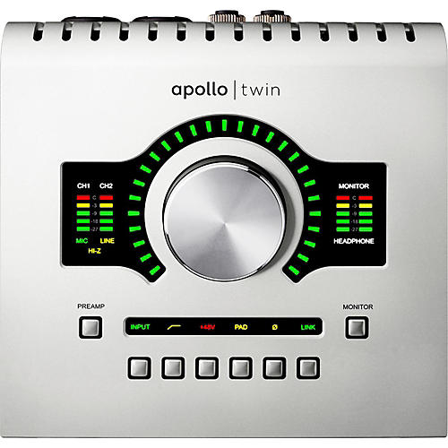 Universal Audio Apollo Twin USB with Realtime UAD Processing