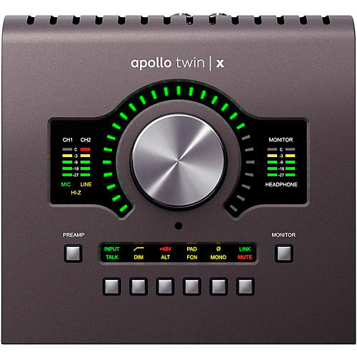 Universal Audio Apollo Twin X DUO Heritage Edition Thunderbolt 3 Audio Interface