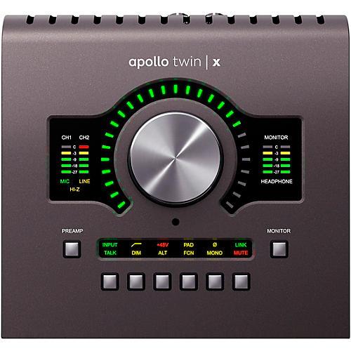 Universal Audio Apollo Twin X QUAD Heritage Edition Thunderbolt 3 Audio Interface