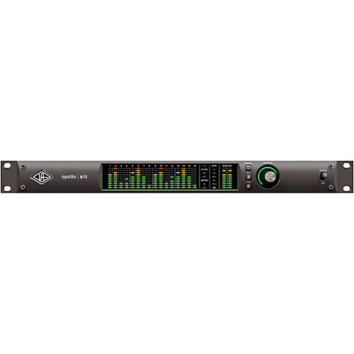 Universal Audio Apollo X16 Heritage Edition 16-Channel Thunderbolt Audio Interface With UAD DSP