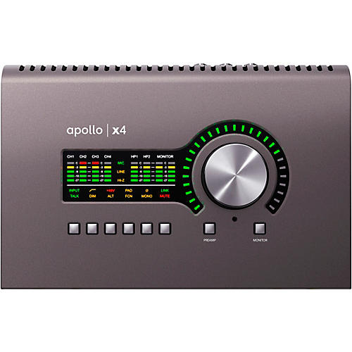 Universal Audio Apollo X4 Heritage Edition Thunderbolt 3 Audio Interface