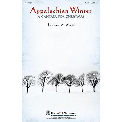 Shawnee Press Appalachian Winter SATB composed by Joseph Martin