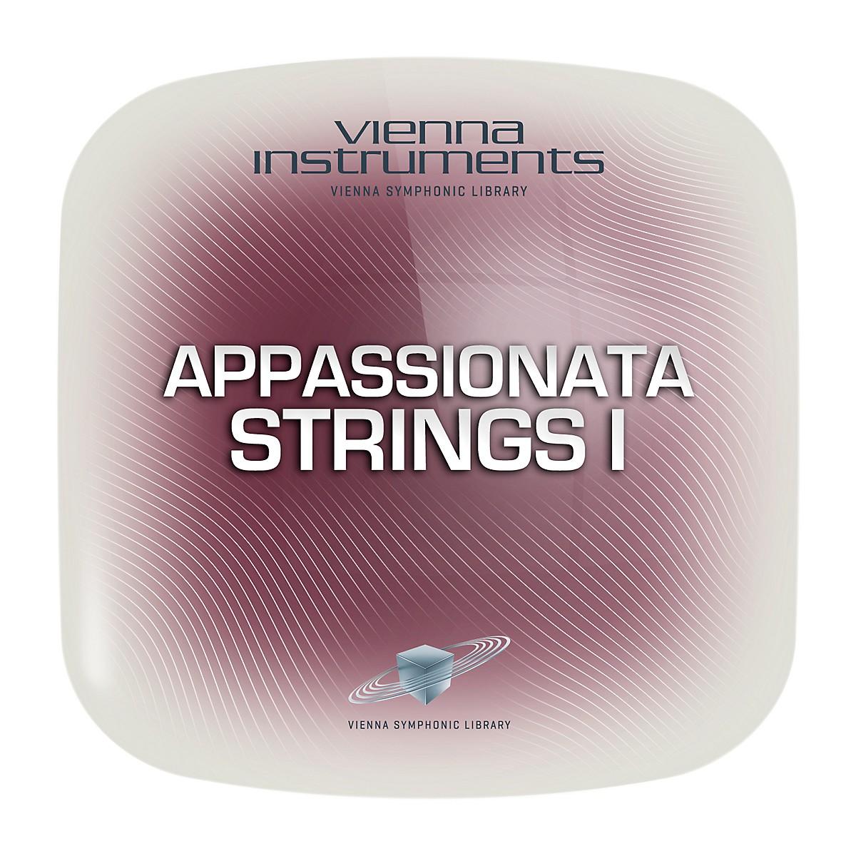 Vienna Instruments Appassionata Strings I Standard Software Download