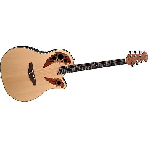 Ovation Applause Series AE148 Super Shallow Cutaway Acoustic ...