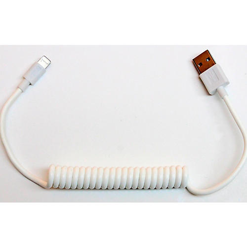 Tera Grand Apple MFi Certified - Lightning to USB Sync and Charge Coil Cable