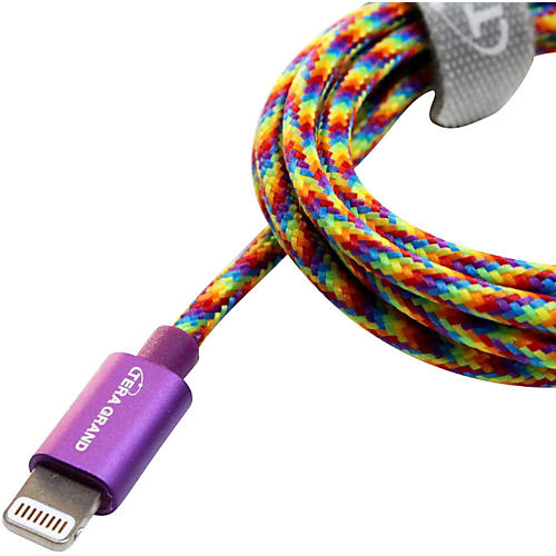 Tera Grand Apple MFi Certified Lightning to USB Braided Cable with Aluminum Housing