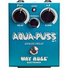 Way Huge Electronics Aqua-Puss MkII Analog Delay Guitar Effects Pedal Level 1