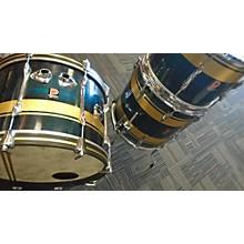 Premier Aqua Shimmer Drum Kit