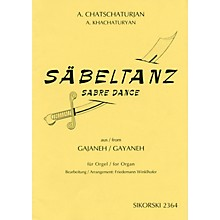 Sikorski Aram Khachaturian - Sabre Dance (from the ballet Gayaneh) Misc Series Edited by Freidemann Winklhofer