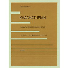 Zen-On Aram Khachaturian - Sonata-Song (Viola) String Solo Series Softcover