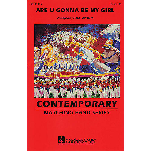 Hal Leonard Are You Gonna Be My Girl Marching Band Level 3 by Jet Arranged by Paul Murtha