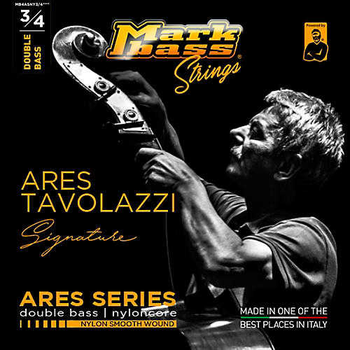 Markbass Ares Tavolazzi Signature Nylon Smooth Wound Double Bass Strings