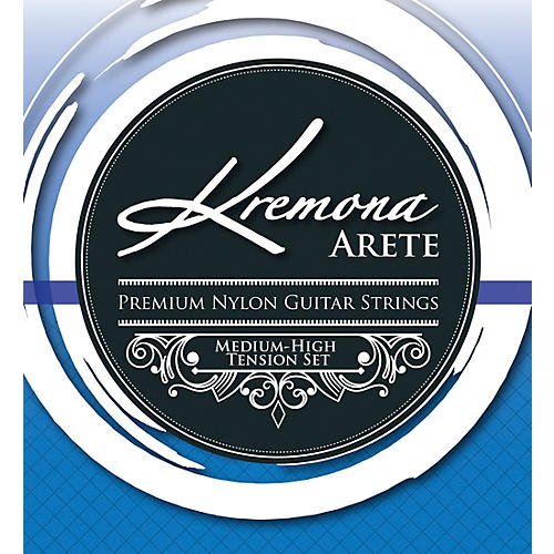 Kremona Arete Premium Nylon Guitar Strings Medium-High Tension Set