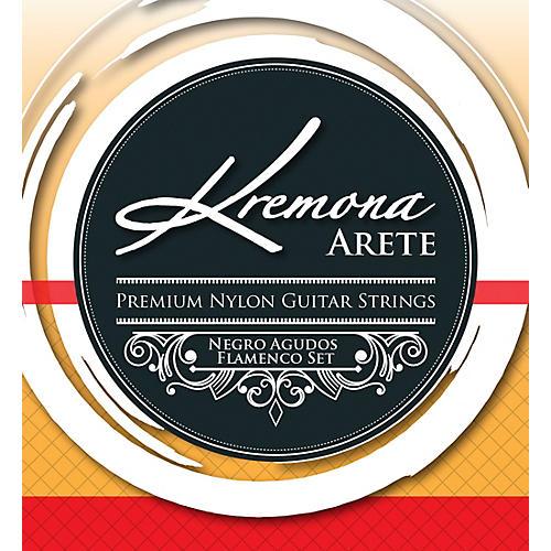 Kremona Arete Premium Nylon Guitar Strings Negro Agudo Flamenco Set
