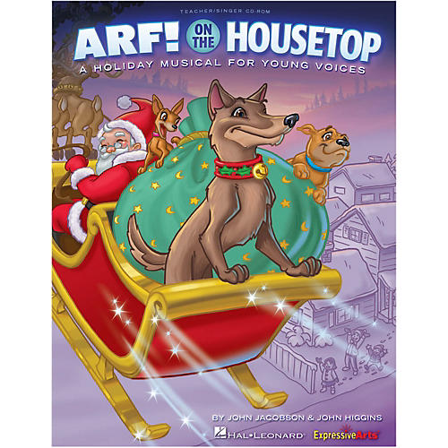 Hal Leonard Arf! On The Housetop Preview CD