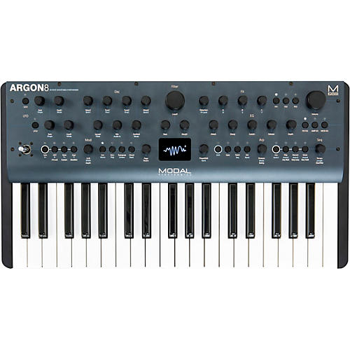Modal Electronics Limited Argon8 37-Key 8-Voice Polyphonic Wavetable Synthesizer