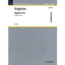 Schott Argoru Va for Bass Clarinet Woodwind Solo Series Softcover