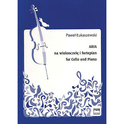 PWM Aria for Cello and Piano (Aria na wiolonszele i fortepian) PWM Series Softcover