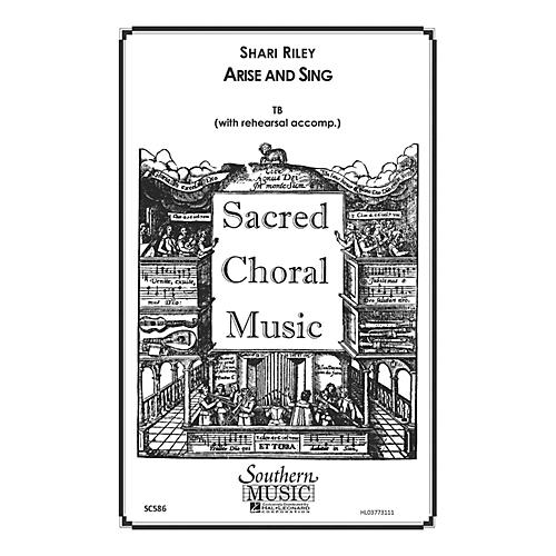 Hal Leonard Arise And Sing (Choral Music/Octavo Sacred 2-part) TB Composed by Riley, Shari