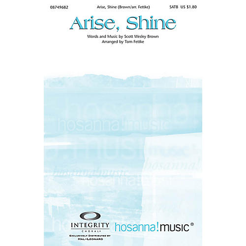 Integrity Choral Arise, Shine CD ACCOMP Arranged by Tom Fettke