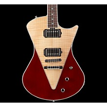 Armada Electric Guitar Level 1 Flamed Top, Natural/Transparent Red Rosewood