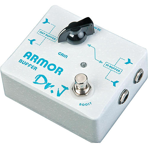 Dr. J Pedals Armor Buffer + Booster Effects Pedal