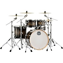 Armory Series Exotic Rock 5-Piece Shell Pack with 22 in. Bass Drum Black Dawn