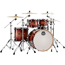 Armory Series Exotic Rock 5-Piece Shell Pack with 22 in. Bass Drum Redwood Burst
