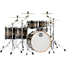 Armory Series Exotic Studioease 6-Piece Shell Pack with Deep Toms and 22 in. Bass Drum Black Dawn
