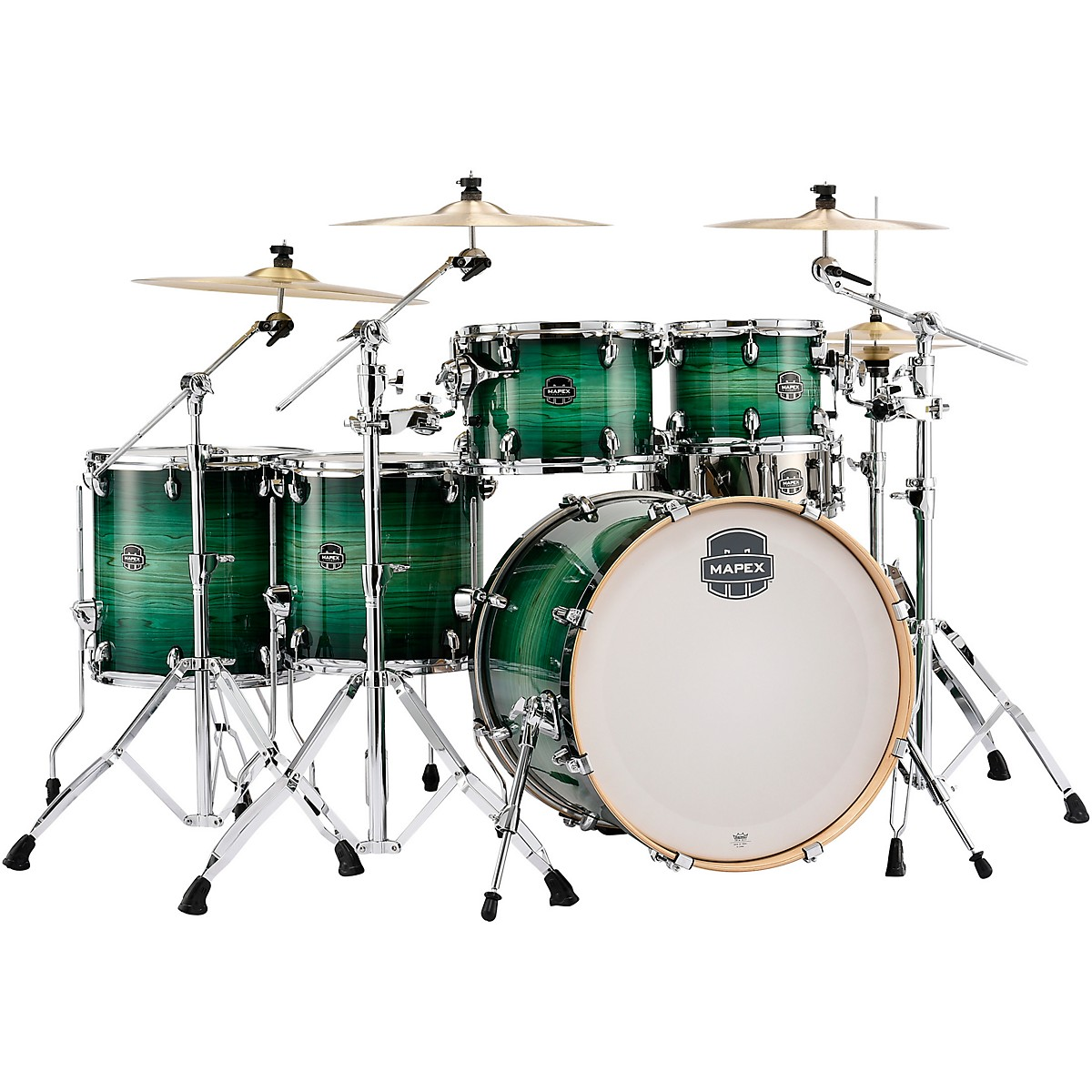 Mapex Armory Series Exotic Studioease 6-Piece Shell Pack with Deep Toms and 22 in. Bass Drum