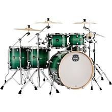Armory Series Exotic Studioease 6-Piece Shell Pack with Deep Toms and 22 in. Bass Drum Emerald Burst