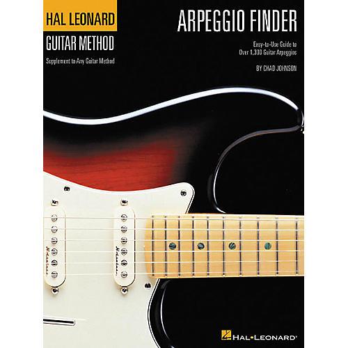 Hal Leonard Arpeggio Finder Guide to Over 1300 Arpeggios Book
