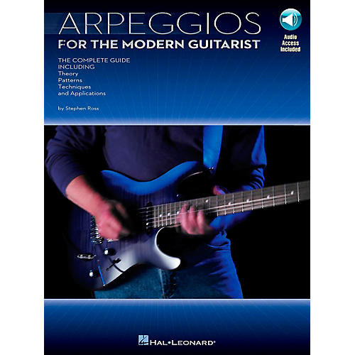 Hal Leonard Arpeggios for The Modern Guitarist (Book/Online Audio)