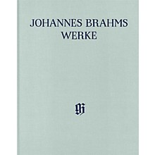 G. Henle Verlag Arrangements of Works by Other Composers for 1 or 2 Pa 4-Hands Henle Complete Hardcover by Brahms
