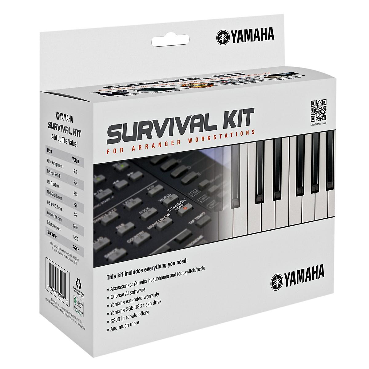 Yamaha Arranger Workstation Survival Kit  (PSRS650/PSRS750/PSRS950/PSRA2000/TYROS4)