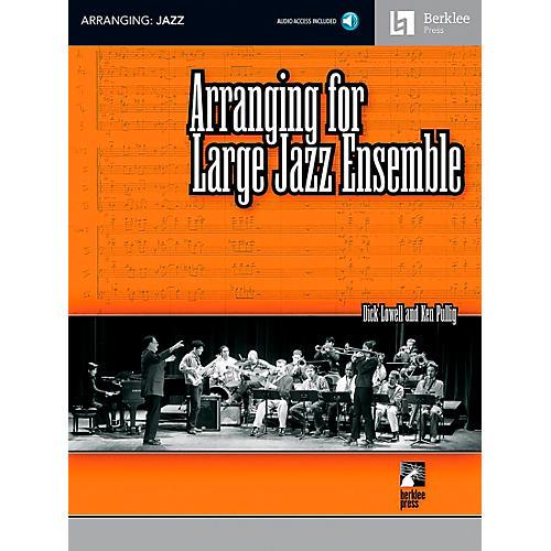 Berklee Press Arranging For Large Jazz Ensemble Book/CD