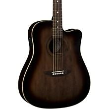 Luna Guitars Art Vintage Dreadnought Cutaway Acoustic-Electric Guitar