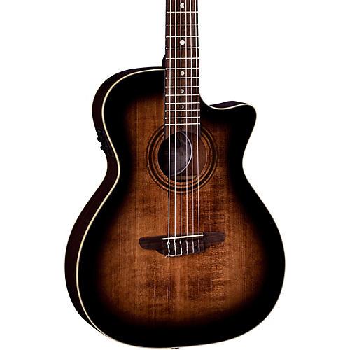 Luna Guitars Art Vintage Nylon Acoustic-Electric Guitar