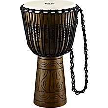 Artifact Series Hand Carved Djembe 13 in. Brown