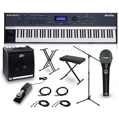 Kurzweil Artis 88-Key Complete Stage Piano Package