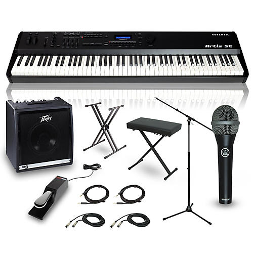 Kurzweil Artis SE 88-Key Complete Stage Piano Package