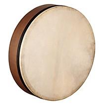 Artisan Edition Mizhar Goatskin Head Walnut Brown 18 x 4 in.