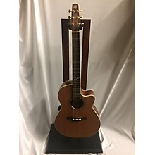 Seagull Artist Mosaic CW Folk Deluxe Qii Acoustic Electric Guitar